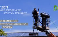 Photovoltaik- Reinigung/ Solar- Reinigung
