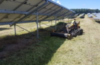 Solarparkpflege/ Solarpark mähen